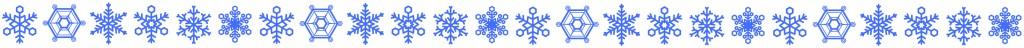 雪結晶ヘッダー②-2